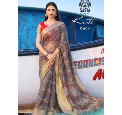 Soft Cotton Silk Saree(10 peice set)