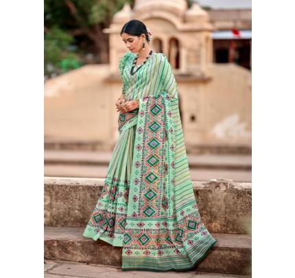Superb Trending Cotton Silk Saree
