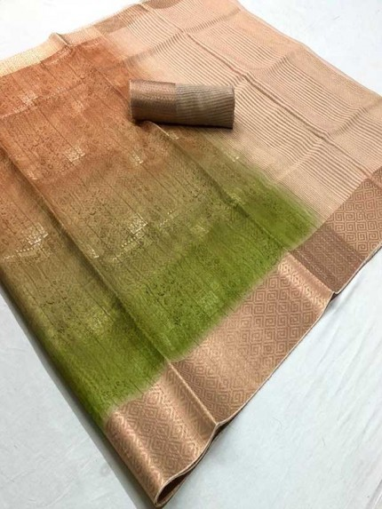 Latest Traditional Look Multi Color Soft Pure Silk Saree