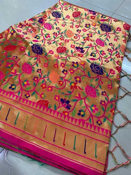 Multi Colour Pure silk And Pure Kanchipuram sarees