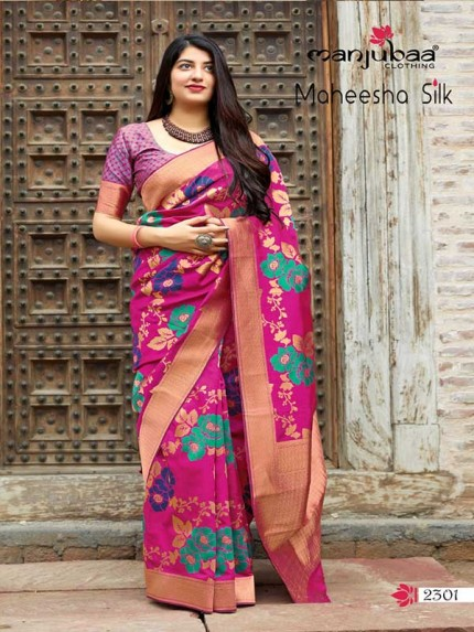 Stunning Look Maroon Colour Soft Banarasi silk Pure Paithani Silk saree