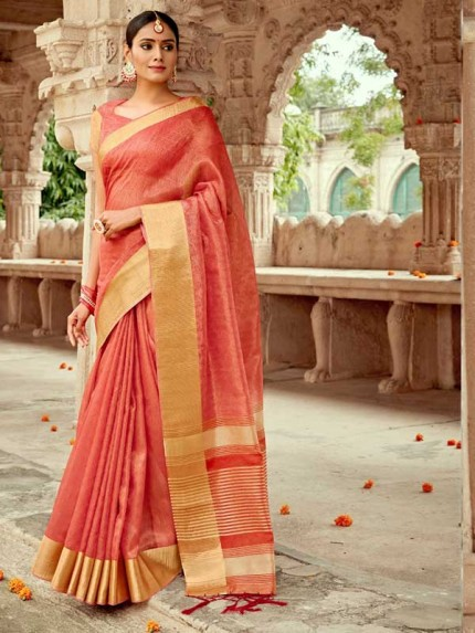 Pretty Look  Soft Tissue Silk  Saree